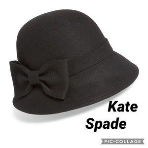 Kate spade 100% wool hat